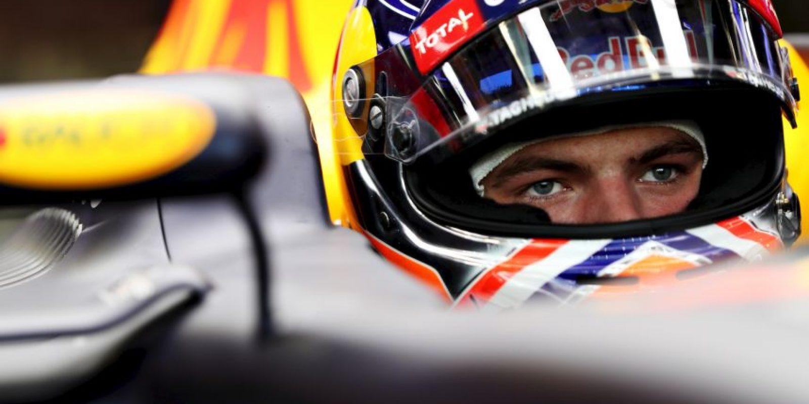 """Getty Images Foto:Max Verstappen se encontró a """"Godzilla"""" durante las prácticas del Gran Premio de Singapur."""