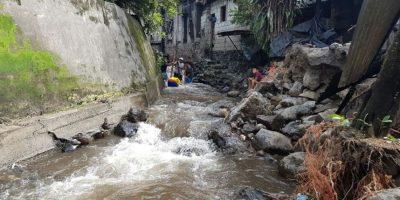 Lluvias dejan más de 8 mil personas afectadas en Suchitepéquez