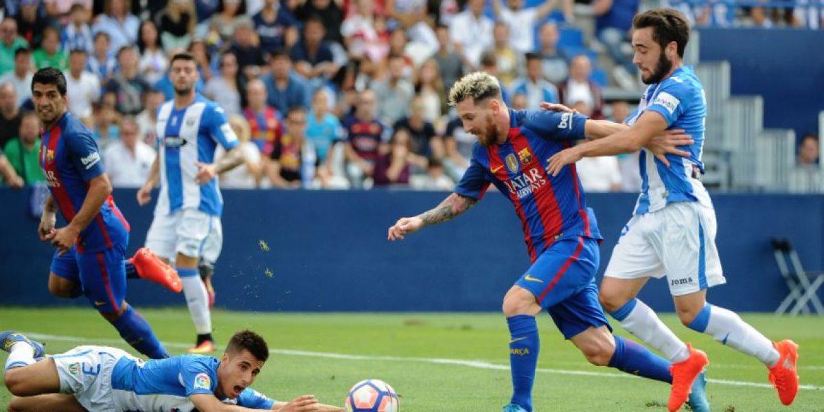 Messi y el Barcelona se muestran inclementes ante el Leganés