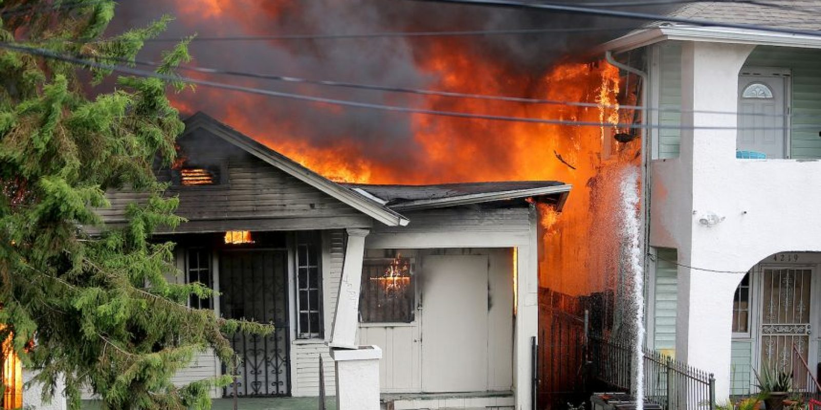 AP Foto:No obedeció las instrucciones de los bomberos