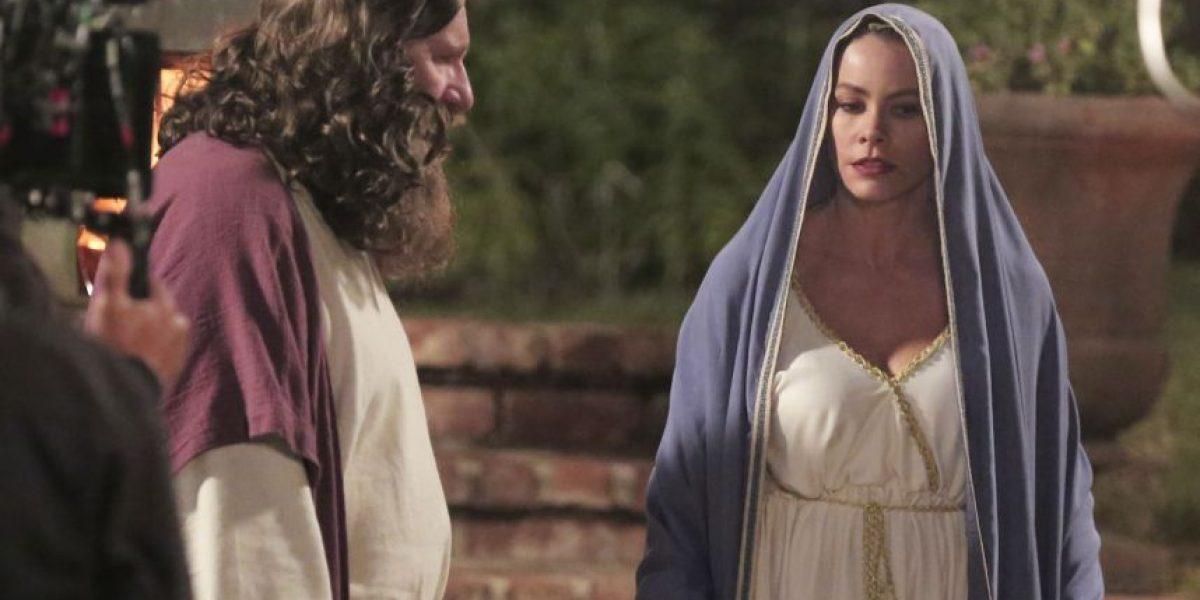 Sofía Vergara se viste de Virgen María para Halloween