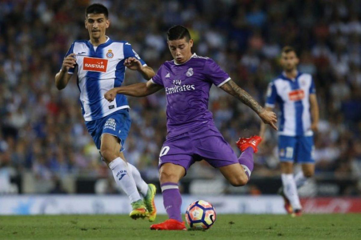 El Real Madrid sumó tres puntos, ahora en casa del Espanyol. Foto:AFP