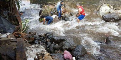 Evalúan riesgos en comunidades de Suchitepéquez afectadas por la lluvia