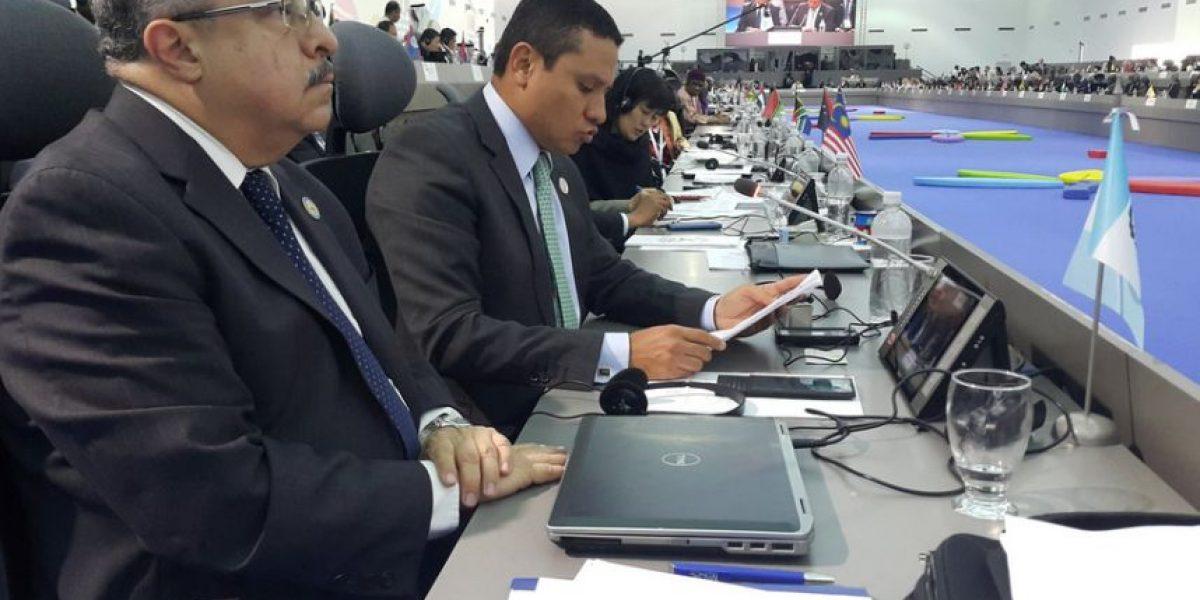 En cumbre en Venezuela, Guatemala resalta importancia de participación ciudadana