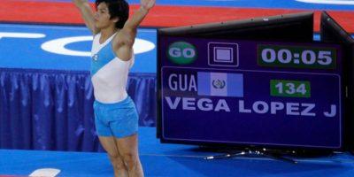 Jorge Vega se colgó su segunda presea de oro en el evento que se disputa en Sucre. Foto:Publisport