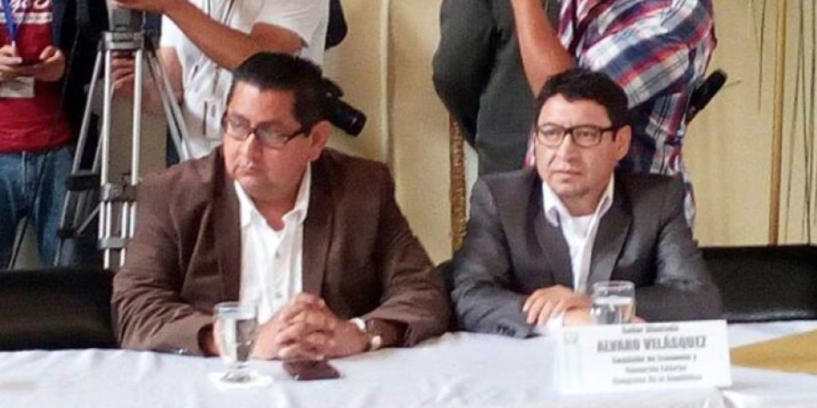 Velásquez en una actividad en el Congreso Foto:Facebook
