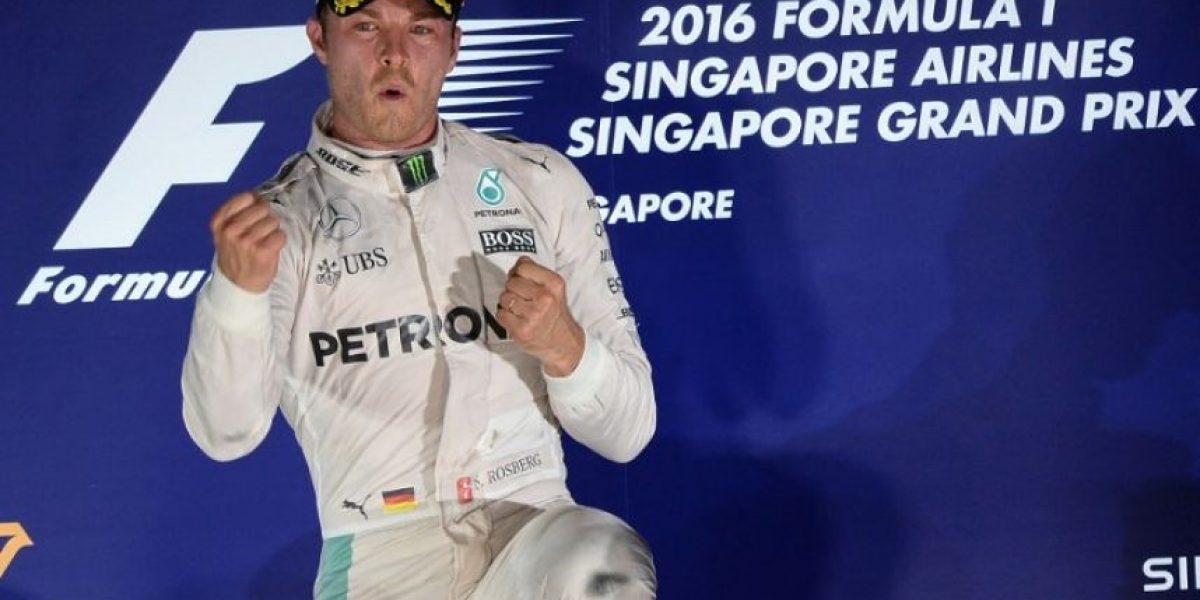 Nico Rosberg gana el Gran Premio de Singapur de Fórmula 1
