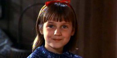 """""""Matilda"""" casi le arruina la vida a Mara Wilson"""