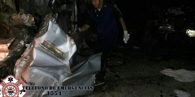 Accidente en El Chal, Petén, deja seis muertos y siete heridos