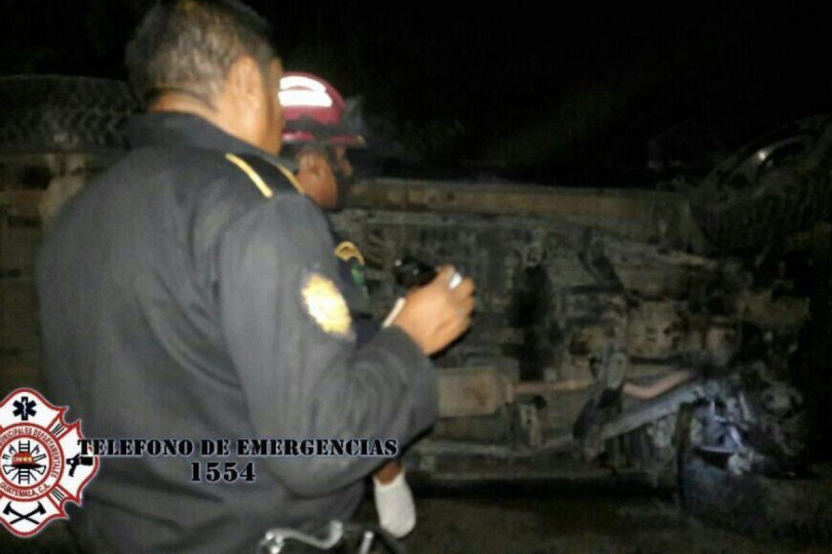 Foto:Bomberos Municipales Departamentales