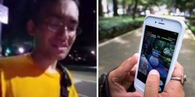VIDEO: Lo asaltan brutalmente mientras jugaba Pokémon GO y lo transmite en vivo