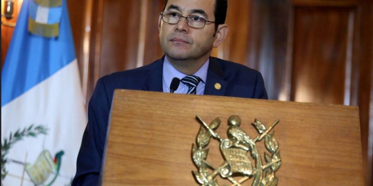 Cámara Guatemalteca de Periodismo se pronuncia por señalamientos de Morales a medios de comunicación