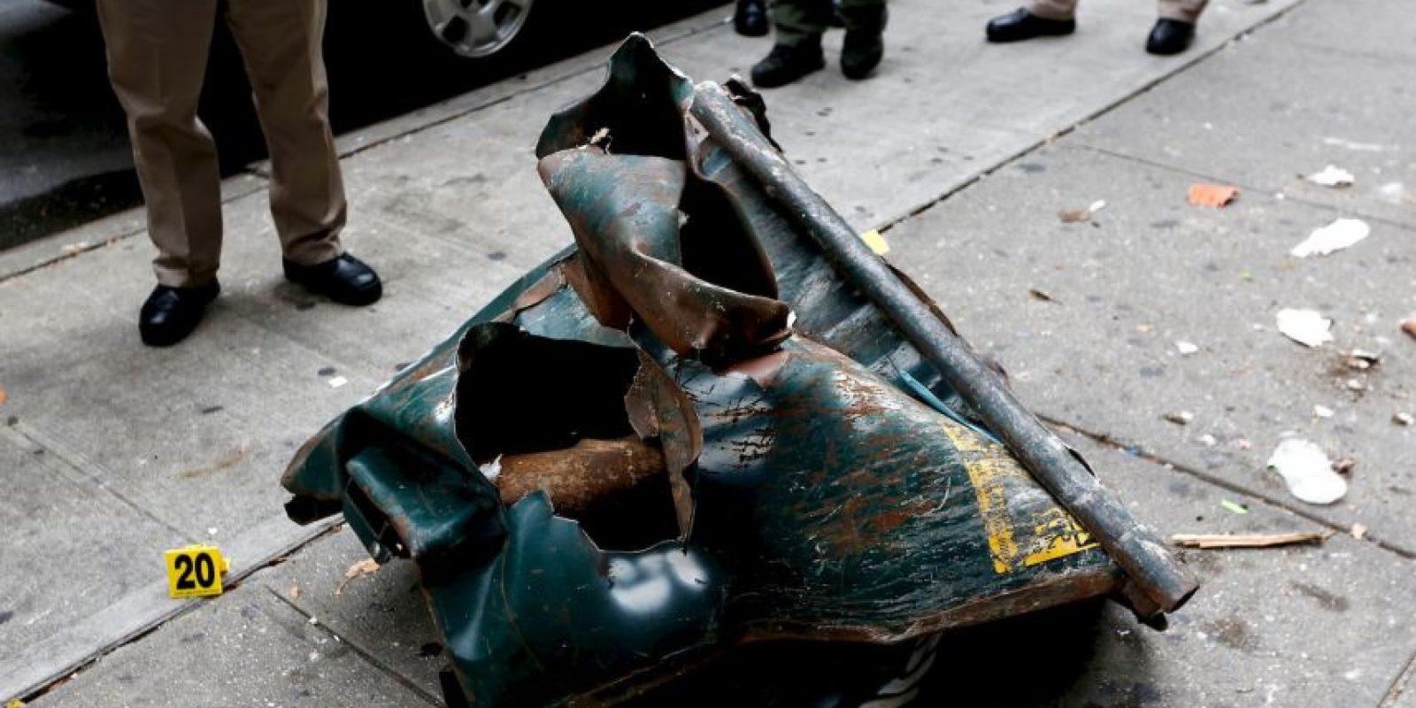 AP Foto:La caja de herramientas que contenía el explosivo de Chelsea.