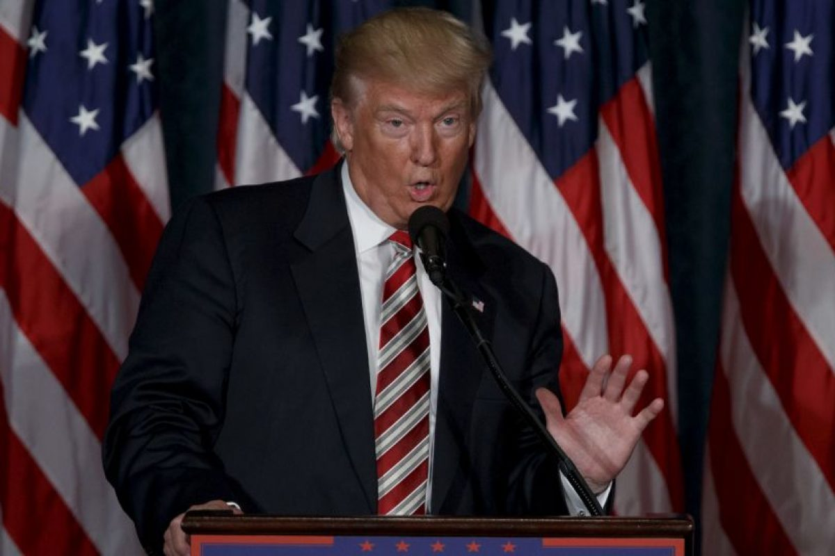 AP Foto:Por otro lado, Donald Trump fue una de las víctimas en la entrega de premios Emmys, anoche.