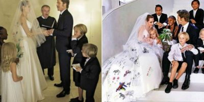 ¡Ya es oficial! Angelina Jolie le pide el divorcio a Brad Pitt