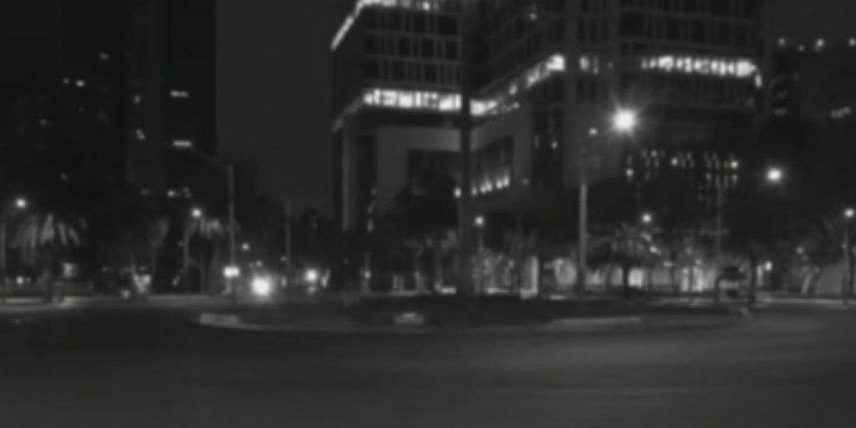 VIDEO: Cámaras de seguridad captan algo aterrador en una avenida de México