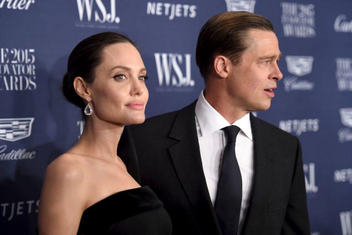Getty Images Foto:Angelina Jolie le pidió el divorcio a Brad Pitt