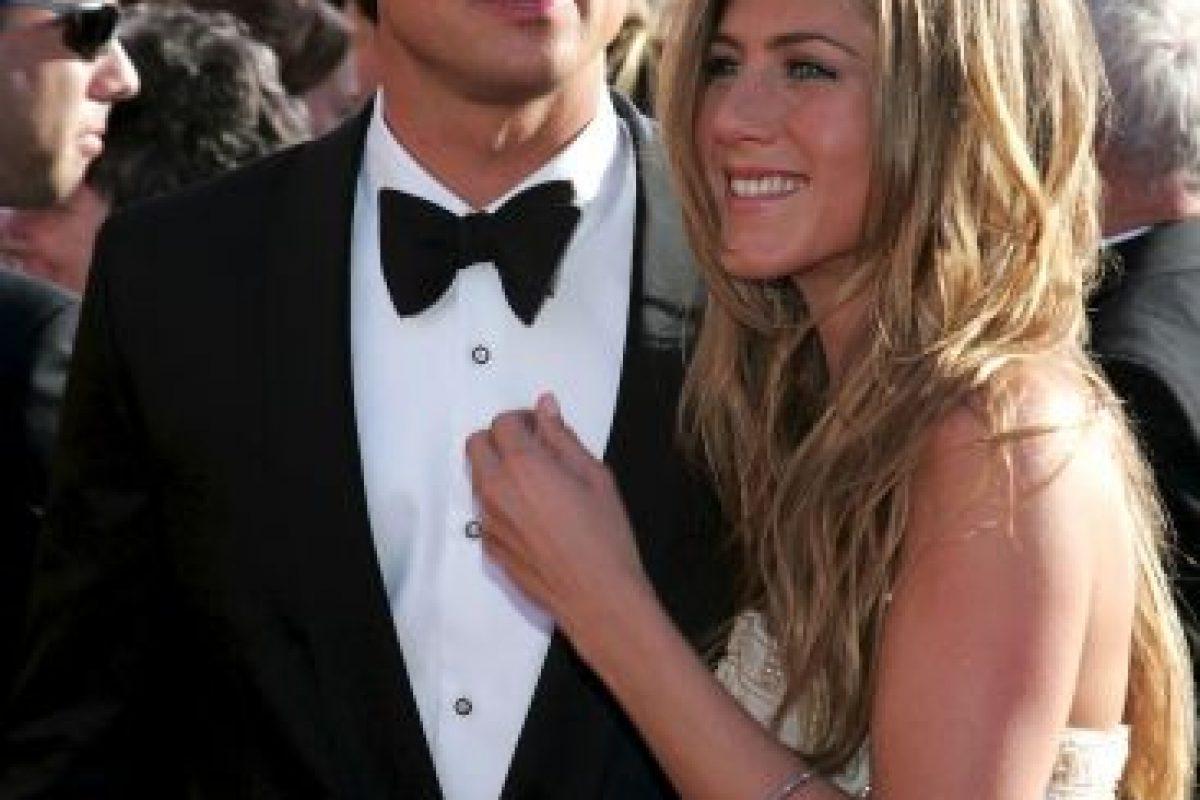 Jennifer Aniston y Brad Pitt Foto:Getty Images