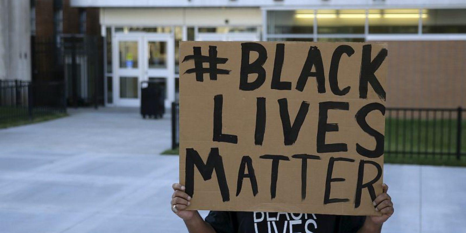 """AP Foto:Su muerte fue recordada por integrantes del movimiento """"Black Lives Matter"""" (Las vidas negras importan)."""
