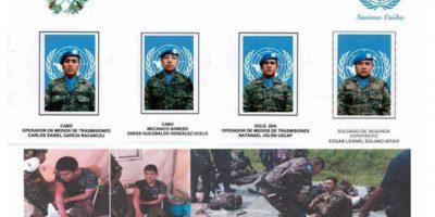 Soldados guatemaltecos resultan heridos en el Congo