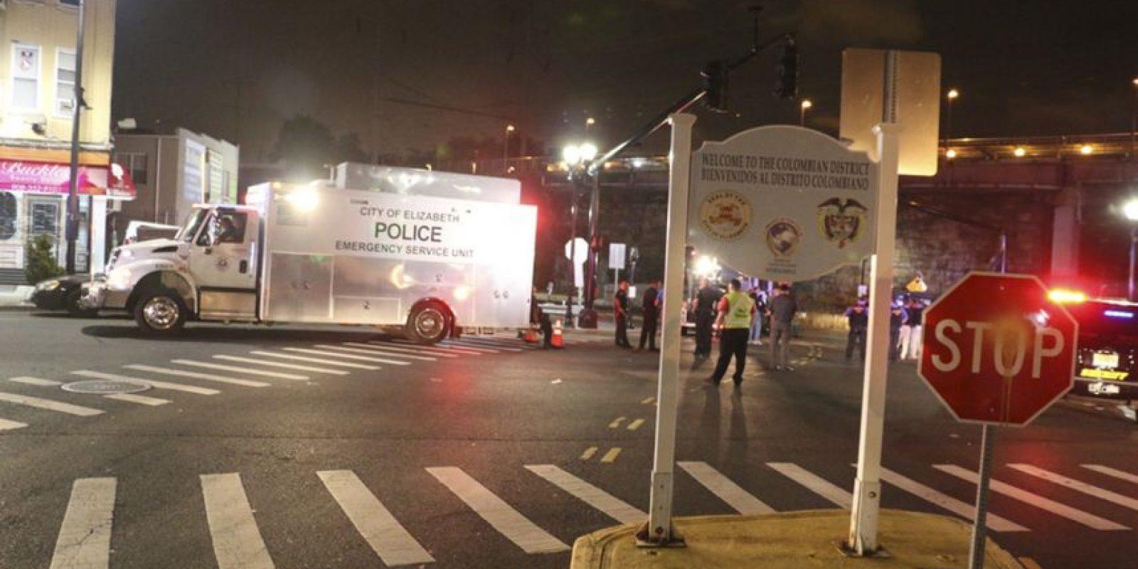 AP Foto:La bomba colocada en Elizabeth, Nueva Jersey.