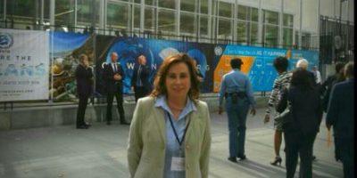 Sandra Torres está en Nueva York y en la ONU denuncia el estado de Prevención