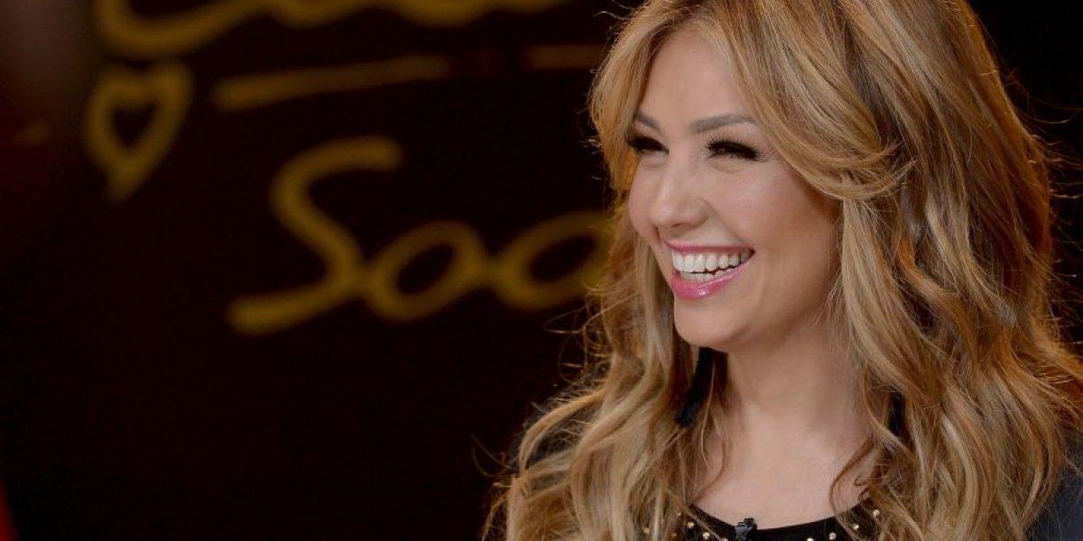 Thalía confesó que sufre un mal le hace olvidar sus canciones