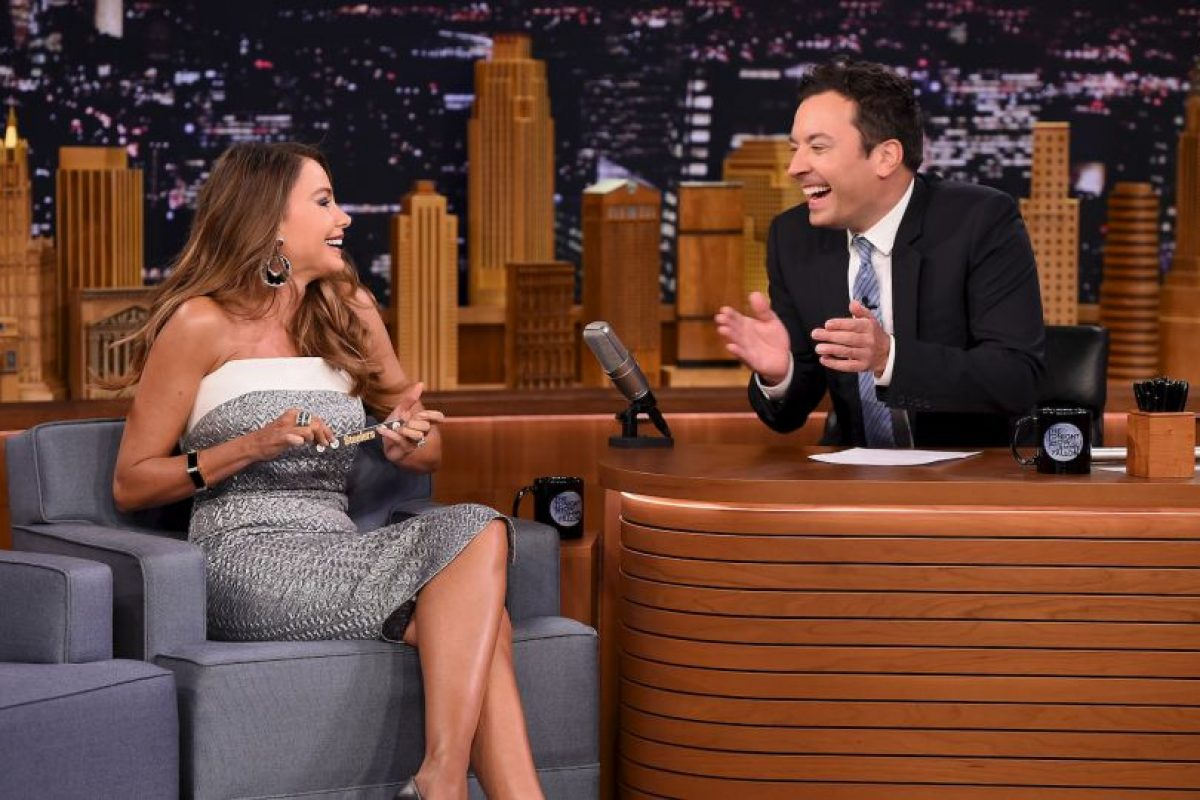 Getty Images Foto: Sofía Vergara fue invitada de Jimmy Fallon