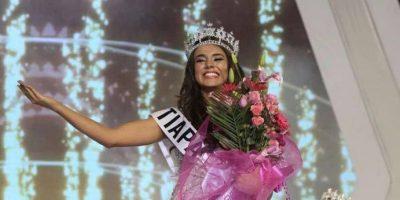 FOTO. Miss Universe le da la bienvenida a la representante de Guatemala, Virginia Argueta
