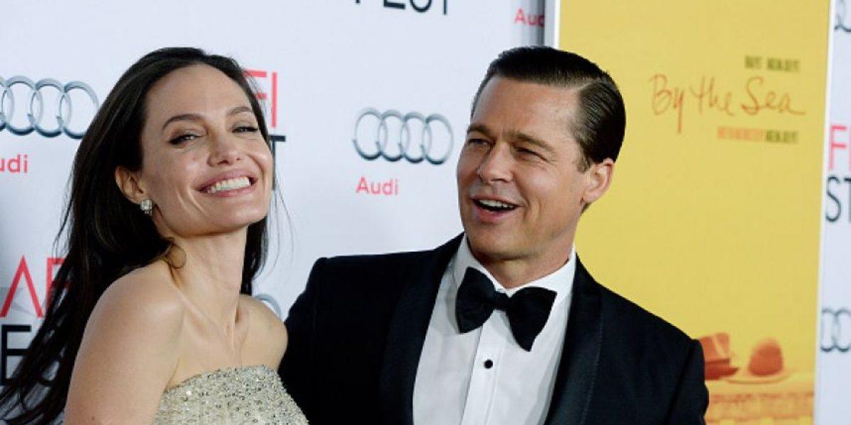 Tras anunciar el divorcio, figuras de cera de Brad Pitt y Angelina Jolie fueron separadas