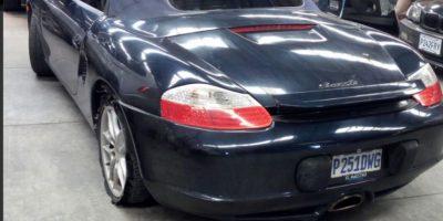 Este automóvil de lujo lo habría obtenido Byron Lima por medio de corrupción en cárceles, según MP