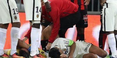 Radamel Falcao sale del hospital tras su golpe en la cabeza