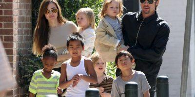 Grosby Group Foto:Hoy en día Brad y Angelina son padres de seis hijos
