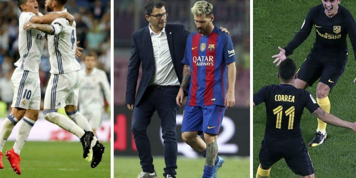 El Barcelona pierde a Messi por una lesión