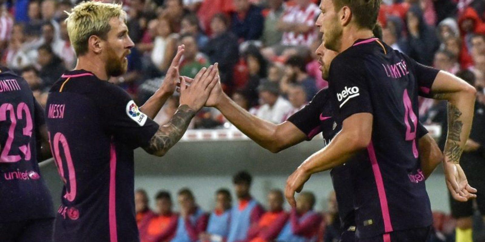 El argentino será una baja sensible para el Barcelona en las próximas semanas. Foto:Getty Images, EFE y AFP