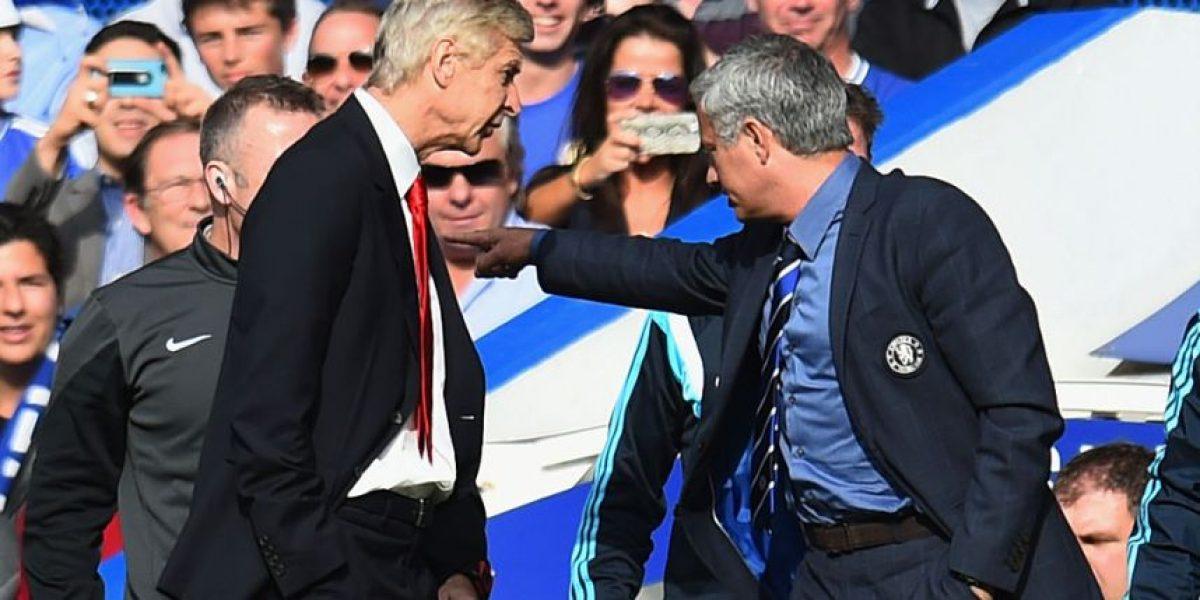 Revelan dura amenaza que le lanzó Mourinho a Arsene Wenger