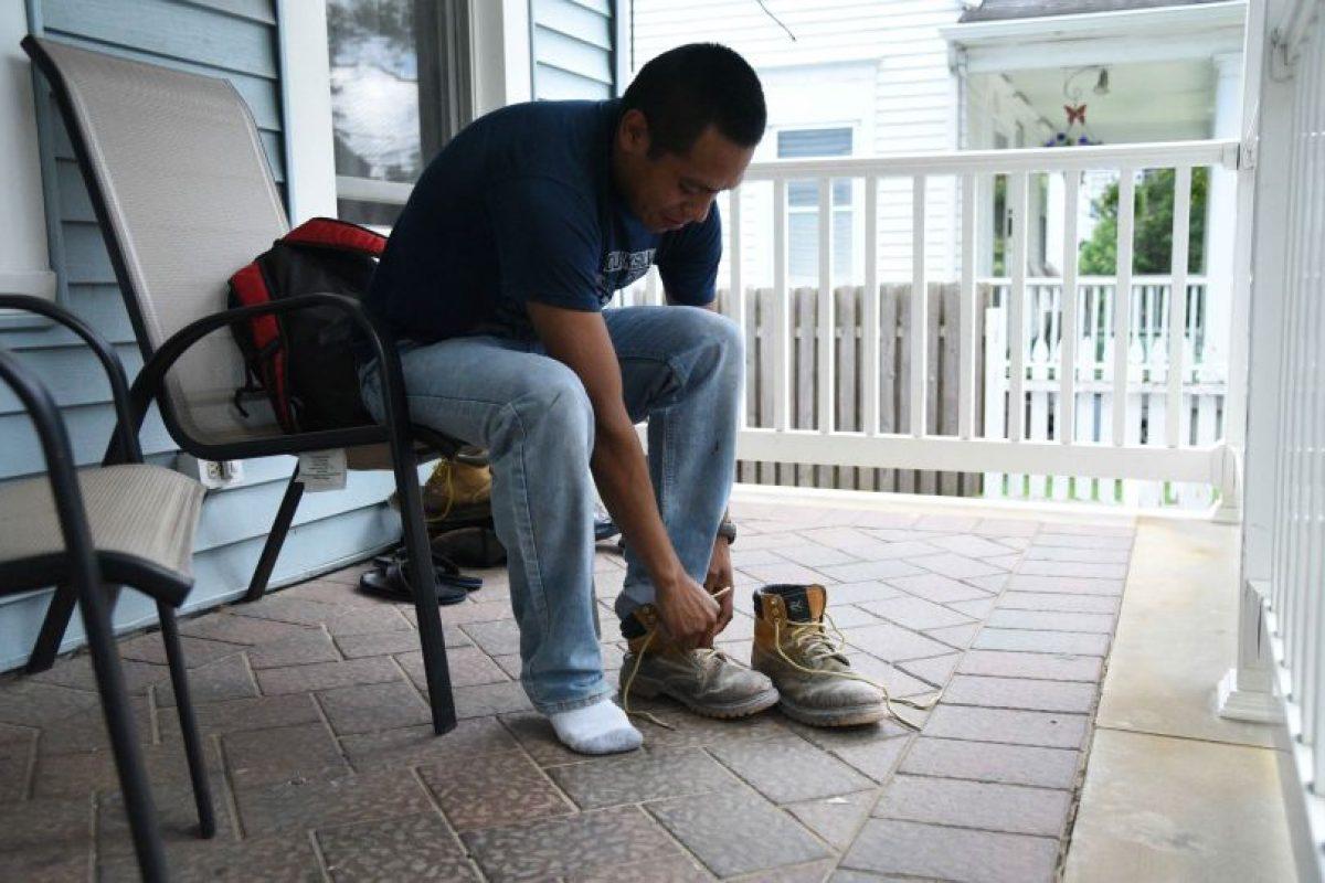 La vida le ha presentado grandes retos sobre el asfalto, el tartán y la vida a Jeremías Saloj, quien ahora reside en Freehold, Nueva Jersey. Foto:Fernando Ruiz