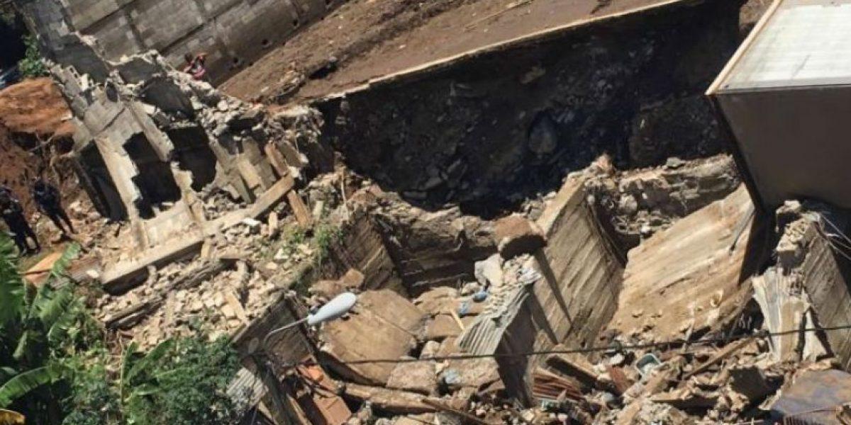 Los puntos de riesgo de deslizamientos por lluvias, en números