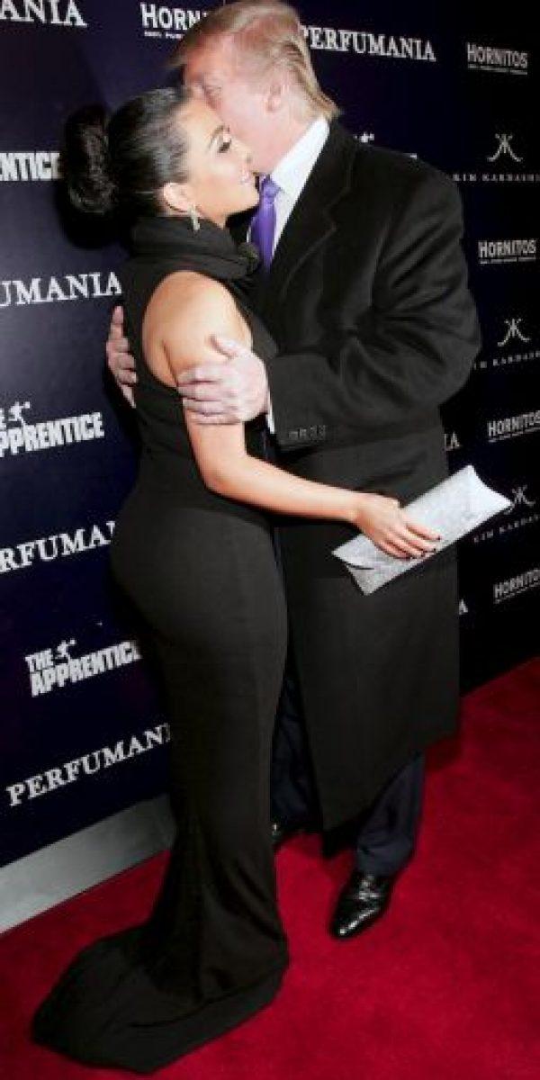 Getty Images Foto:Así fue el encuentro de Kim Kardashian y Donald Trump en 2010