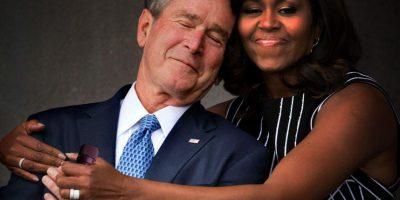 Reddit / Imgur Foto:Bebiendo con George W. Bush