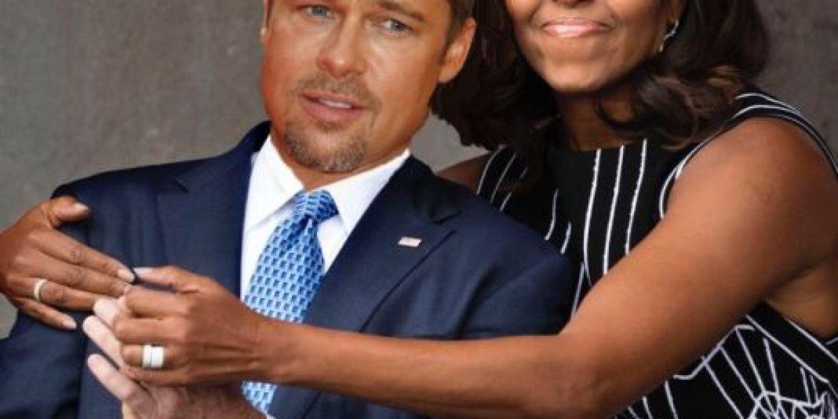 Michelle Obama abrazó a George W. Bush y así se burlaron de ellos
