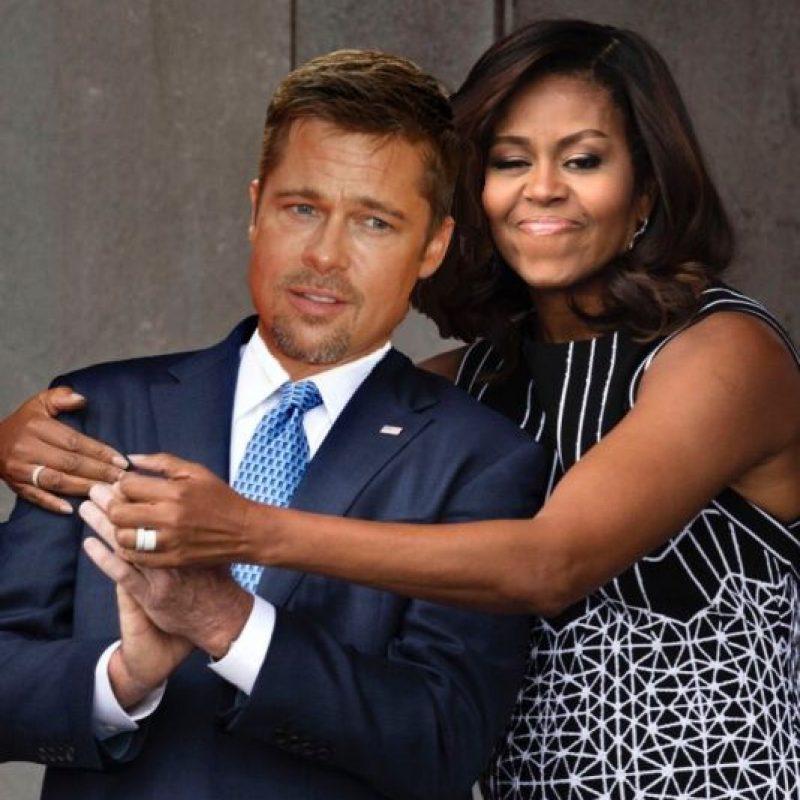 Reddit / Imgur Foto:Con Brad Pitt, después del divorcio con Angelina