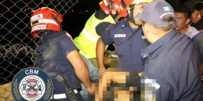 Joven de aproximadamente 25 años se suicida en el Puente El Incienso