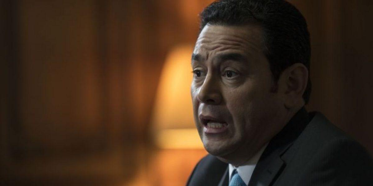 Trasladan a juzgado denuncia contra Jimmy Morales y Jafeth Cabrera por estado de prevención