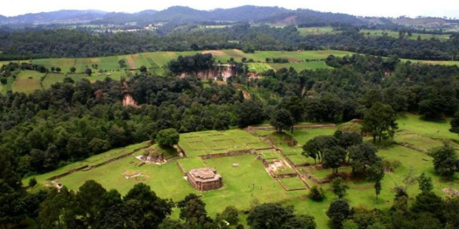 Iximché Foto:Ministerio de Cultura y Deportes