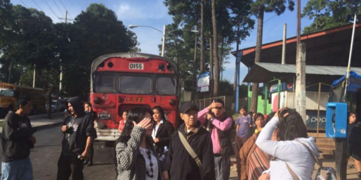 Usuarios de las rutas 36 y 37 siguen afectados por paro del servicio tras extorsiones