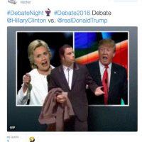 Twitter Foto:Esto son algunos de los memes que dejó el debate presidencial