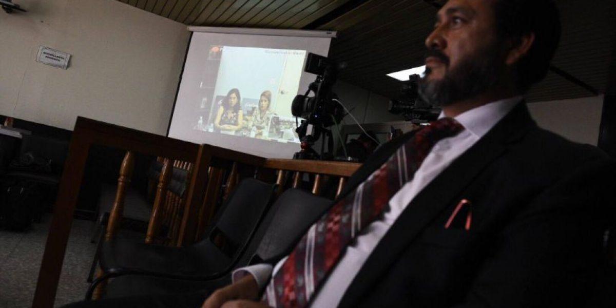 """""""Por seguridad grabé a Gudy Rivera"""" dice exmagistrada Claudia Escobar en videoconferencia"""