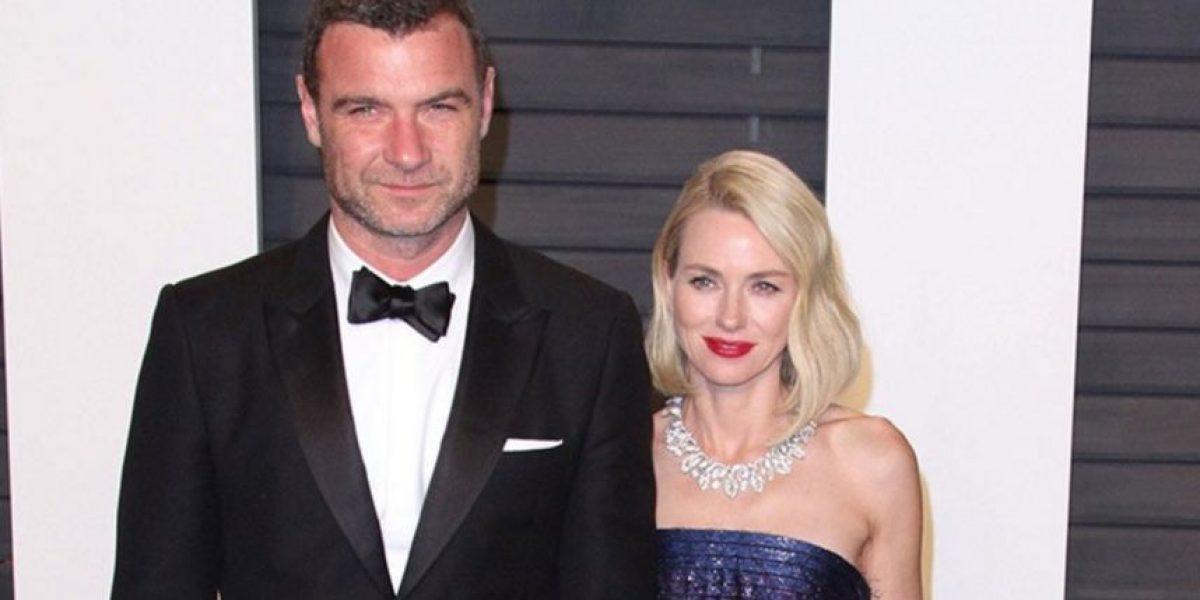¡Un divorcio más! Naomi Watts se separa de Liev Schreiber