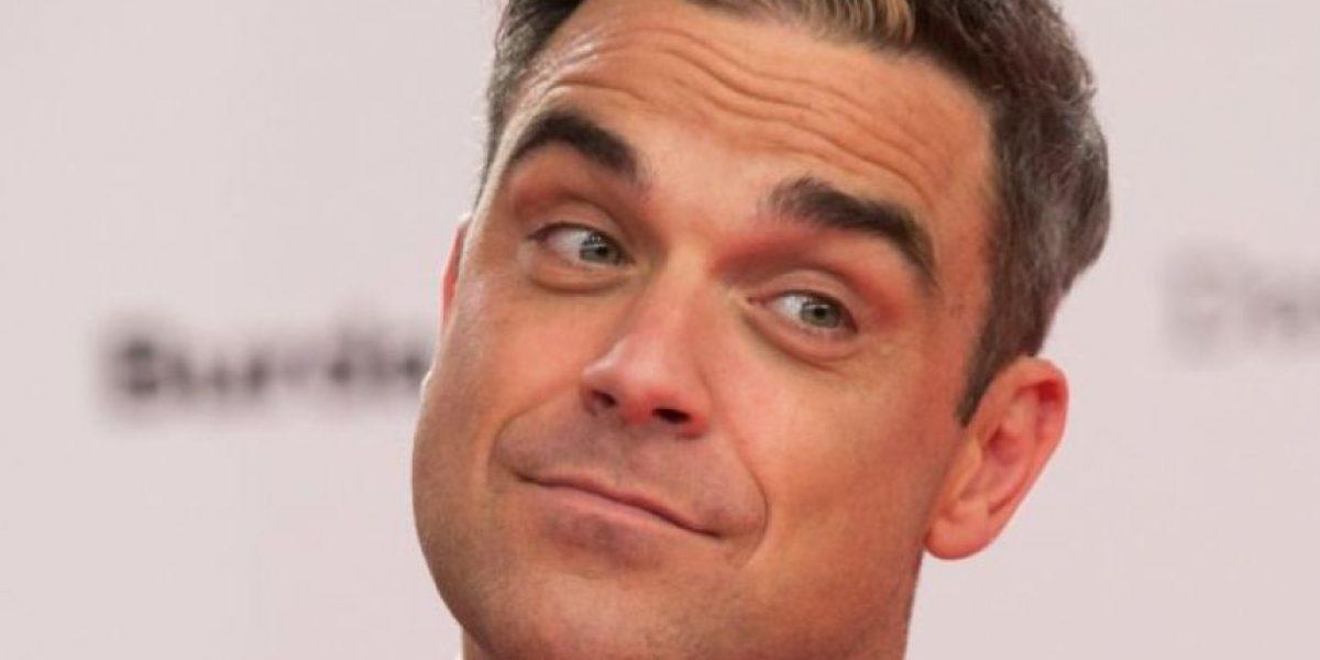 Robbie Williams se vuelve a poner la misma ropa interior de hace 16 años